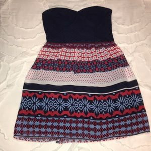 Red, white, and blue dress!